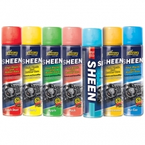 Shield Sheen Vinyl, Plastic & Rubber Care