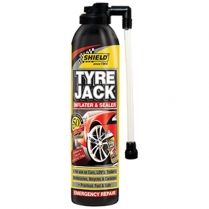 Shield Tyre Jack Emergency Inflater