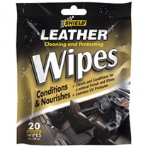 Shield Leather Wipes