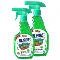 Shield Blade Squeaky Green Spray Cleaner