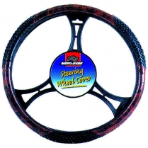 Steering Wheel Cover Wood Massage