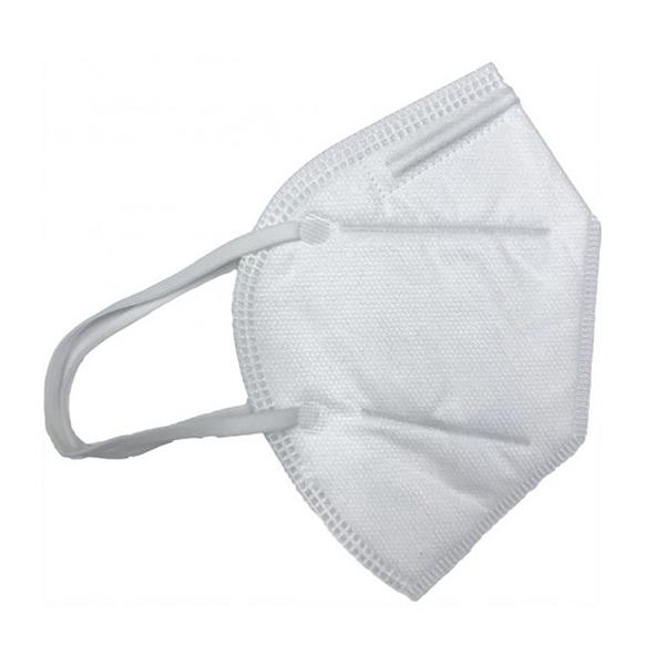 Respirator, KN95, w/Ear Loops, White, 10/PK