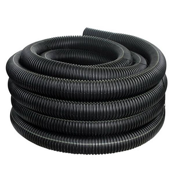 Flex Hose 100' Roll, Vacuum Grade, White Stripe