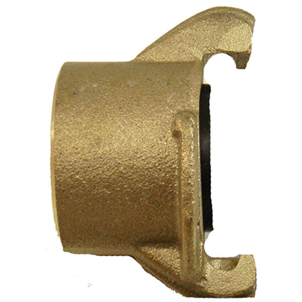 """Tank Coupling, 1-1/4"""",  Brass, 1-1/4"""" NPT Tapered Threads"""