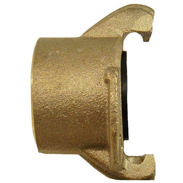 """Tank Coupling, 1-1/2"""",  Brass, NPT Tapered Threads"""