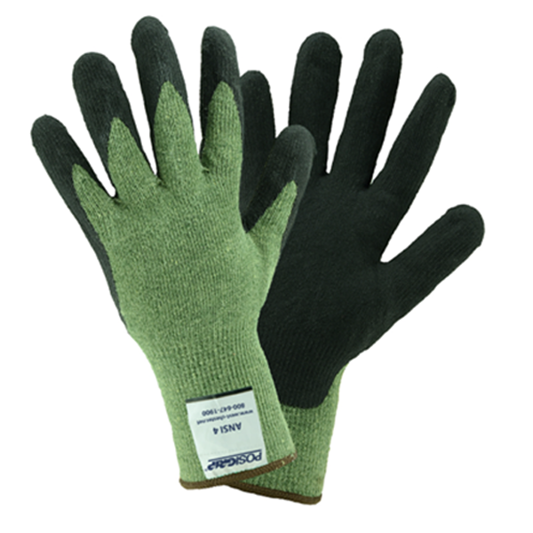 West Chester PosiGrip Kevlar Cut Resistant Glove, ANSI 6, Small