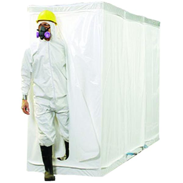 Disposacon Shower, White, FR, 6 Mil