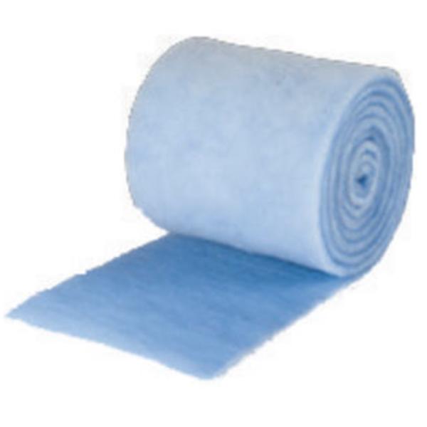 "48"" x 90' x 1""  Blue Filter Media Roll"