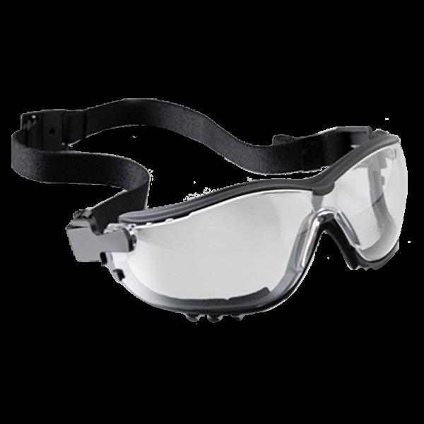 Pyramex V2G Goggles, Clear, Clear Anti-Fog Lens