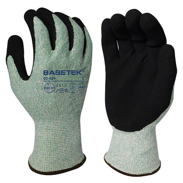 Gloves. Ansi Cut 4 Nitrile Co