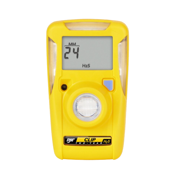 Single Gas Detector, 10PPM - 15PPM Range, Hydrogen Sulfide