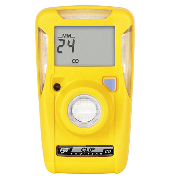 BW Clip CO Single Gas Detector, 2 Year