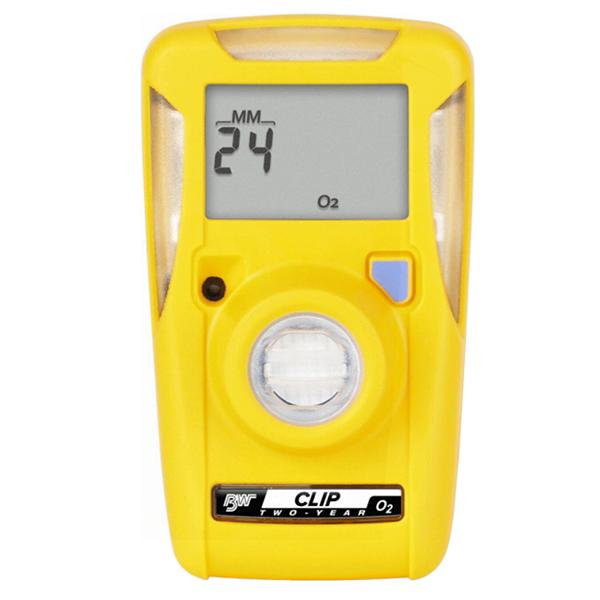 BW Clip O2 Single Gas Detector, 2 Year