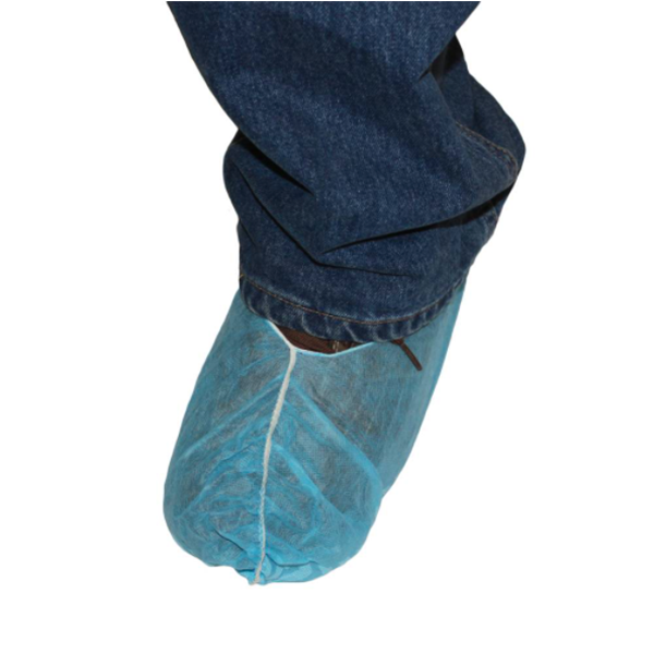 Poly-Pro Booties, Blue, 2XL, Non-Skid, 150 Pair/Case