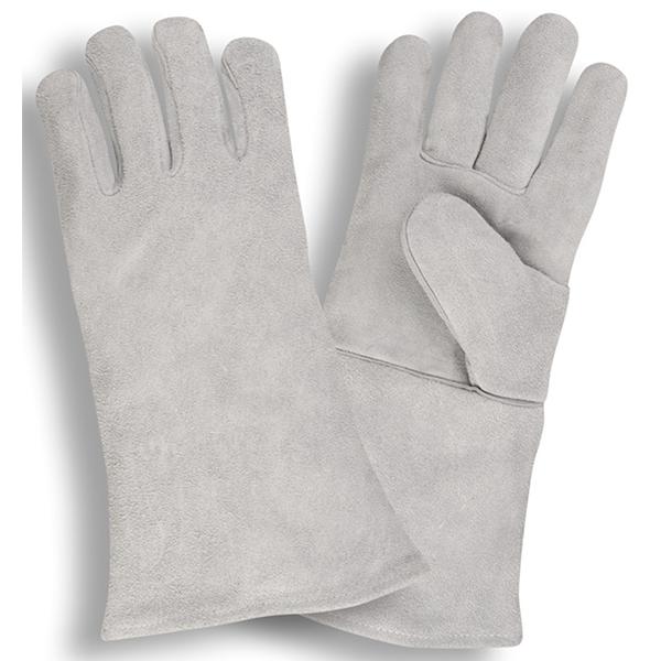 Cordova Gloves, 7605, SZ XL, Welder Gloves, Split Leather, Grey, PR
