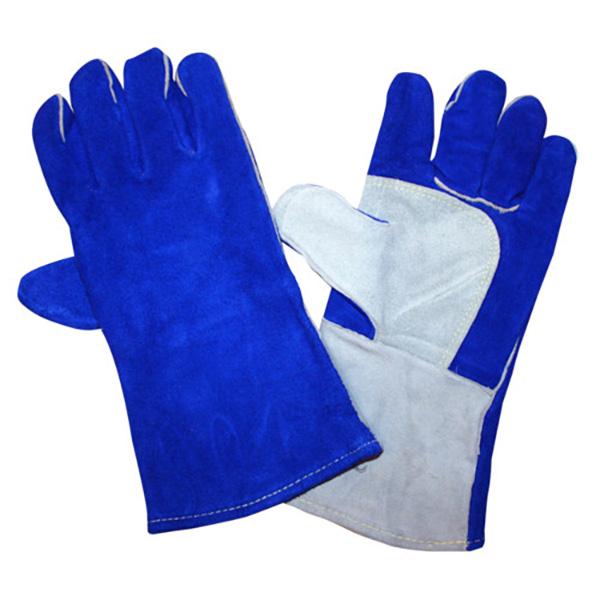 Cordova Gloves, 7615, SZ XL, Welder Gloves, Split Leather, Select, Blue, PR
