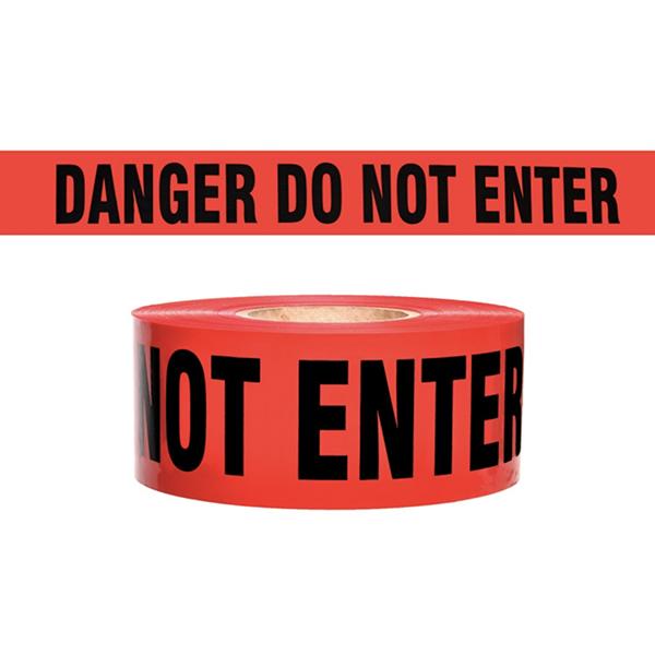 """Danger Tape """"Do Not Enter"""" , 3"""" x 1000'"""