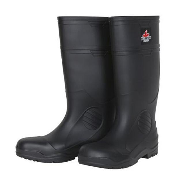 Steel Toe Boots SZ 10, Black, Economy Grade
