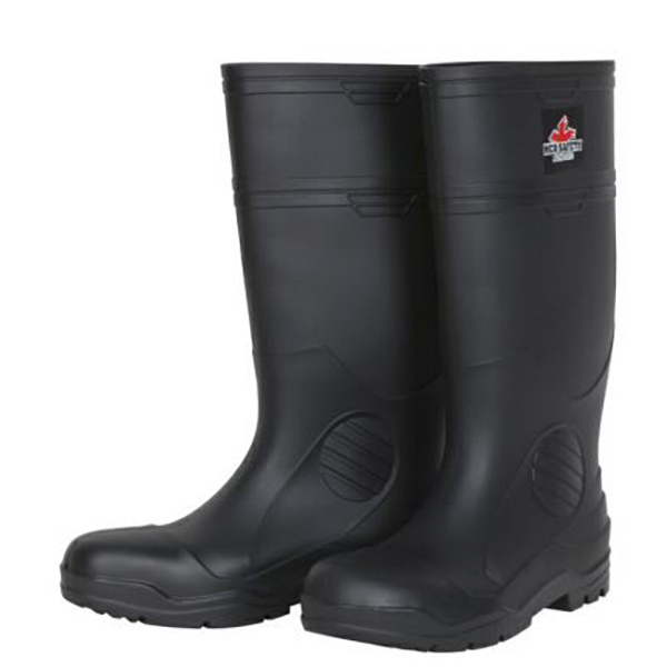 Steel Toe Boots SZ 8, Black, Economy Grade