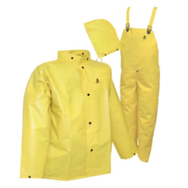 Tingley DuraScrim™ 3-Piece Rain Suit, Large, Yellow