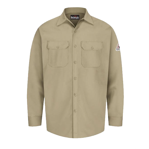 Excel FR® Work Shirt, Medium, Khaki