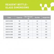 Reagent Bottle - Glass