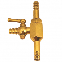 Filter Pump, Nickel Plated Brass Hose Connection