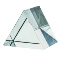 Prism, Glass, 60° x 60° x 60° 50mm Equilateral