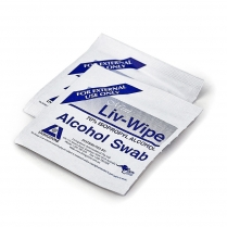 Alcohol Swabs, 70% Isopropyl Alcohol, 65 x 30mm