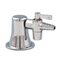 Laboratory Gas Turret, Single Outlet Straight