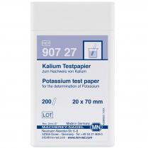 Test Strips Qualitative, Potassium, 20 x 70mm 200pk