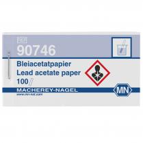 Test Strips Qualitative, Lead Acetate, Booklet, 10 x 75mm 100pk
