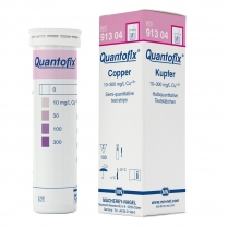 Test Strips Quantofix, Copper, 0-10-30-100-300, Pack 100