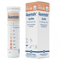 Test Strips Quantofix, Sulfite, 0-10-25-50-100-250-500-1000
