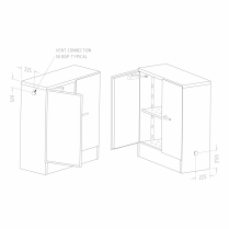160L Modulab 4-IN-1 Safety Cabinet
