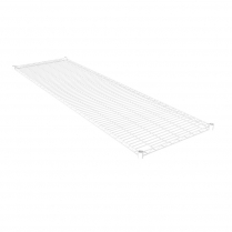 White Powder Coated Wire Shelving 455 x 1525 (5 shelves)