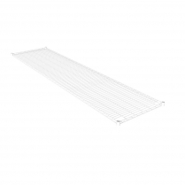 White Powder Coated Wire Shelving 455 x 1825 (5 shelves)