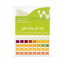 pH Fix Test Strips, Non-Bleed - 0-14
