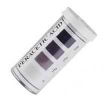 Peracetic Acid Strips High Level 0-500ppm