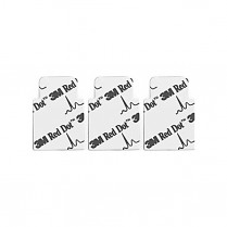 3M Red Dot Resting Tab Electrodes 100/pack