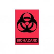 "Biohazard Labels 3"" x 2"", 500/roll"