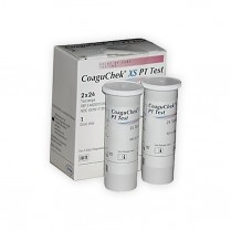 CoaguChek XS Test Kit, 48 Tests per Box