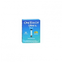 One Touch Ultra Blue Test Strips 50/vial