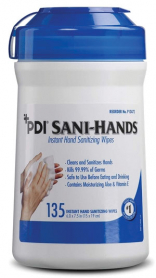 Sani-Hands ALC Hand Wipes 135/cn