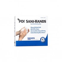 Sani-Hands Instant Sanitizing Hand Wipes, 100/box