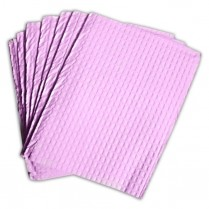 "Towel, 3 Ply Tissue + Poly Mauve, 13""x18"", 500/case"
