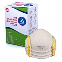 N95 Particulate Respirator Mask, molded 20/box