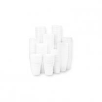 5oz. Plastic Cups, White