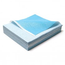 Stretcher Sheet, Blue Tissue/Poly 40
