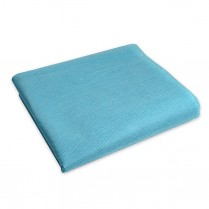 Premium Cot Sheet, Fitted Lt Blue 85